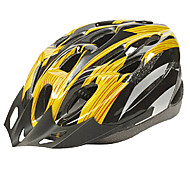 IFire Yellow Black Unintegrally-molded Cycling Helmet