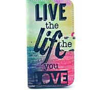 живая жизнь море дизайн искусственная кожа полный случай корпус с подставкой для Samsung Galaxy S3 i9300