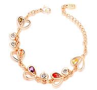 Gorgeous Fashion Jewelry Alloy with  Crystal  Bracelet  (one piece)