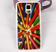 Beautiful Pencil Pattern PC Back Case for Samsung Galaxy Note 4