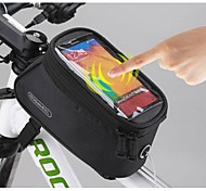 ROSWHEEL 5.5 Inch Bike Bag/Smart Phone Bag Cycling Polyester Waterproof Bike Tube Touch Screen Mobile Phone Bag