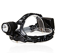 KUTOOK T6 Cree 1500 Lumens 6061 Al Alloy Bright Bicycle Headlamp - Three Lamps