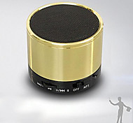 Bluetooth Wireless MiNi Portable Small Metal Speaker for iphone ipad Mp3 Speaker -Gold