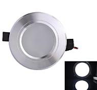 белый свет Светодиодная лампа потолка (мужчины и женщины плагин) белый 310lm AC85-265V 3W