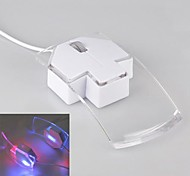 Creative Arrow Shape Wired Mouse 1200DPI 7-Colored LED Light