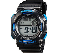 Kinder Multifunktions-LED-Digital-Sport-Armbanduhr 30m Wasserdicht
