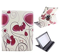 Abstract Pattern Design 360 Degree Rotating PU Leather Case with Stand for iPad 2/3/4