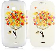 casebox caso del patrón del globo de aire de todo el cuerpo ® para mini i8190 samsung galaxy s3