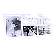 White Wall-sticked Frame Set