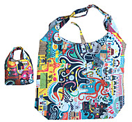 padrão de design especial eco-friendly dobrável saco de compras