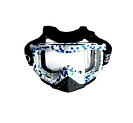Fashion Outdoor Safety Eye Protection Goggles (Blue)