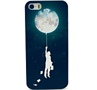 Hard Case Man and Space Motivo per iPhone 5/5S
