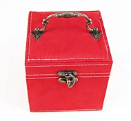 Jewelry Boxes Flannelette Beige / Red / Brown / Purple / Pink
