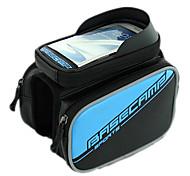 Bike Frame Bag / Cell Phone Bag Cycling/Bike For Waterproof / Shockproof / Wearable / Touch Screen , Blue , PU Leather / EVA)