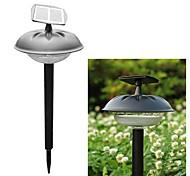 Lámpara de participación del 20-LED de plástico Solar Modern luz del césped del jardín Camino