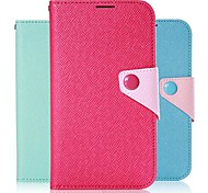 Wallet PU Leather Credit Card Holder Pouch Case for Samsung Galaxy Note 3