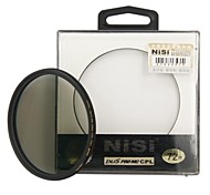 NISI 72mm PRO MC CPL Multi Coated Circular Polarizer Lens Filter