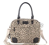 "Canvas Leopard Design 13""  Laptop Case Notebook Bag Computer Messenger Pouch Handbag for HP Asus Samsung"