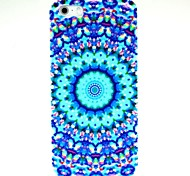 Chinese Style Blue Flower Pattern Hard Case for iPhone 5/5S