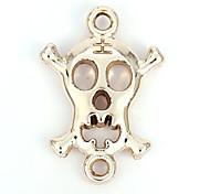 liga crânio encantos DIY pingentes de pulseira&colar (10 peças por pacote)