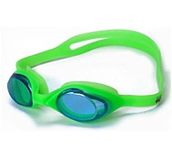 Kids' Mixed Color Silicone Kids Normal Anti Fog Swimming Goggles G6100