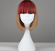 Women Multi-color Short Straight Synthetic Punk Lolita Wig