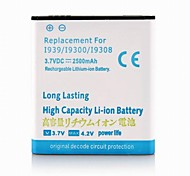 2500mah batería de iones de litio para Samsung i9300/i9308/i939