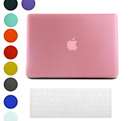 Frosted Surface Design PC Hard Case with Keyboard Cover Skin for MacBook Air(Assorted Colors)