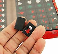 19mm Travel Environmental Black Mahjong Pack with Box