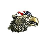 motos carros decoração emblema adesivos - águias harley (liga de zinco)
