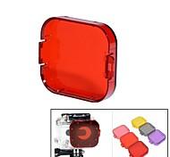 Accessoires GoPro Etui de protection / Dive Filtre Pour Gopro Hero 3 Wakeboard / Plongée / Surf / La navigation de plaisance / Kayak