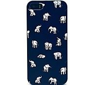 vormor® indiano estojo rígido padrão de elefantes para iPhone 5 / 5s