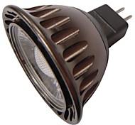 QSlighting®  MR16(GU5.3) 3W 1xCOB 240LM Warm/Cool White Light Spotlight (AC/DC 12V)