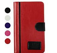 Para Funda Samsung Galaxy con Soporte / Flip Funda Cuerpo Entero Funda Un Color Cuero Sintético Samsung Tab 4 7.0