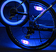 Bike Light , Wheel Lights / Bike Lights - 3 Mode Lumens Button Battery Battery Cycling/Bike Blue Bike YELVQI