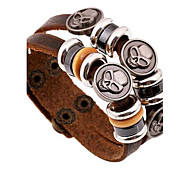 Men's Non-mainstream Punk Leather Bracelet