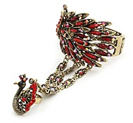 Z&X®  Fashionable National Peacock Style Bracelet With Ring(More Colors)