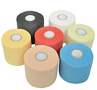 Sports Outdoor 7cm x 27m Sports Pre-Wrap Foam Bandage Underwrap Prewrap for Athletic Tape (Assorted Color)