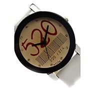Women's Casual   Leather Quartz Wrist Watch (Assorted Colors)