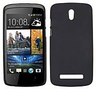 Smooth Oil Coated PC Hard Cases for HTC Desire 500(Assorted Colors)