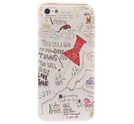 Paper Towns Design Soft Case for iPhone 5/5S