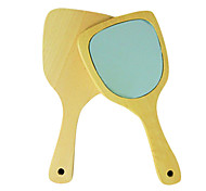 1 Pcs Stock Hand Shank Retro Trumpet Single Side Cosmetic Mirror