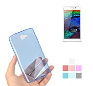 Angibabe 0.45mm Ultra-thin ClearTransparent Jelly Gel TPU & Jelly Case for HUAWEI H30-T00 3C
