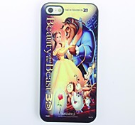 Beauty and The Beast modello Hard Case in metallo per iPhone 5/5S