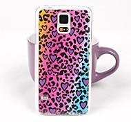 caja de la PC vuelve hermosos del patrón del leopardo de colores para Samsung Galaxy Note 4
