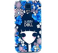 Flower Girl Hard Case Cover for Samsung Galaxy S5 I9600