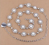 Women Chain,Cute Alloy / Imitation Pearl All Seasons