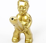 Novelty Golden Man Metal Butane Jet Gas  Lighter