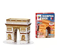 3D Puzzles The Arch of Triumph for Children and Adult Educational Toys(26PCS)