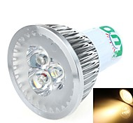 LOU Lâmpada de Foco GX5.3 3 W 270~300 LM 6000 K Branco Quente 3 SMD DC 12 V